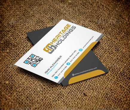 Heritage Holdings Business Cards and Stationery  Draft # 299 by Xxtreme