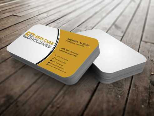 Heritage Holdings Business Cards and Stationery  Draft # 303 by Xxtreme