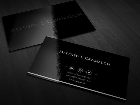 Primarily a monogram with a latin quote Business Cards and Stationery  Draft # 1 by Xpert