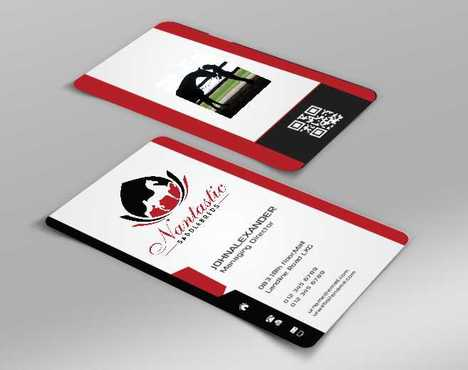 Nantastic Saddlebreds - Nancy Merlo Business Cards and Stationery  Draft # 48 by Xxtreme