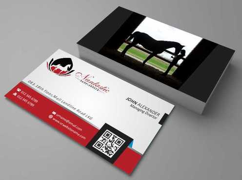 Nantastic Saddlebreds - Nancy Merlo Business Cards and Stationery  Draft # 53 by Xxtreme