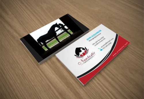 Nantastic Saddlebreds - Nancy Merlo Business Cards and Stationery  Draft # 63 by Xxtreme