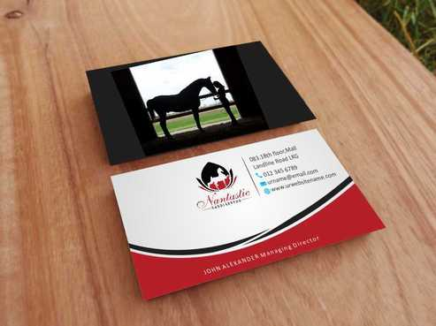 Nantastic Saddlebreds - Nancy Merlo Business Cards and Stationery  Draft # 68 by Xxtreme