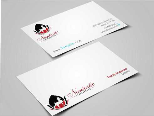 Nantastic Saddlebreds - Nancy Merlo Business Cards and Stationery  Draft # 71 by Xxtreme