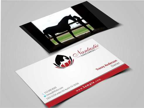 Nantastic Saddlebreds - Nancy Merlo Business Cards and Stationery  Draft # 73 by Xxtreme