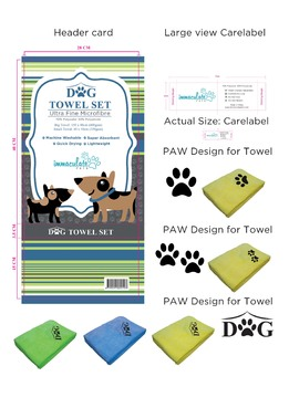 Dog Towel Set Other  Draft # 8 by 34622891