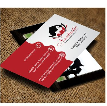 Nantastic Saddlebreds - Nancy Merlo Business Cards and Stationery  Draft # 76 by Xxtreme