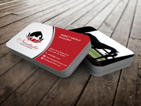 Nantastic Saddlebreds - Nancy Merlo Business Cards and Stationery  Draft # 78 by Xxtreme