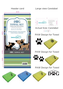 Dog Towel Set Other  Draft # 9 by 34622891