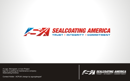 Sealcoating America A Logo, Monogram, or Icon  Draft # 451 by agungdesgraf