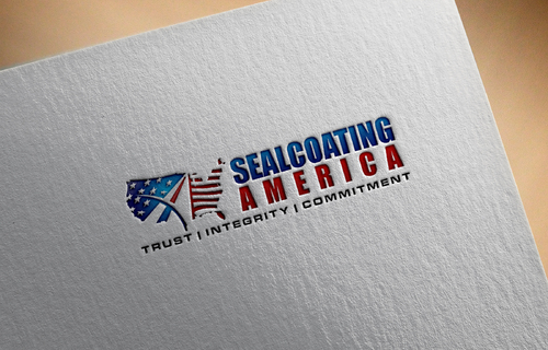 Sealcoating America A Logo, Monogram, or Icon  Draft # 459 by KejamDia
