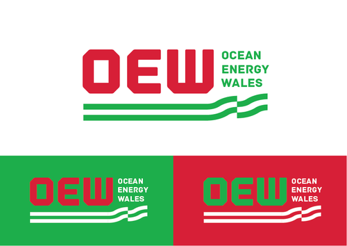 Either: Marine Energy Wales or Ocean Energy Wales A Logo, Monogram, or Icon  Draft # 27 by KenArrok