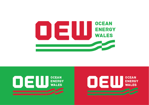 Either: Marine Energy Wales or Ocean Energy Wales A Logo, Monogram, or Icon  Draft # 28 by KenArrok