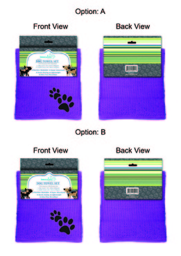 Dog Towel Set Other  Draft # 13 by 34622891