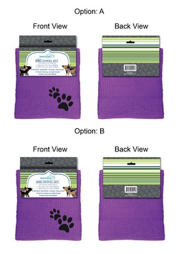 Dog Towel Set Other Winning Design by 34622891