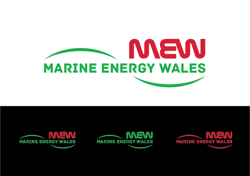 Either: Marine Energy Wales or Ocean Energy Wales A Logo, Monogram, or Icon  Draft # 35 by KenArrok