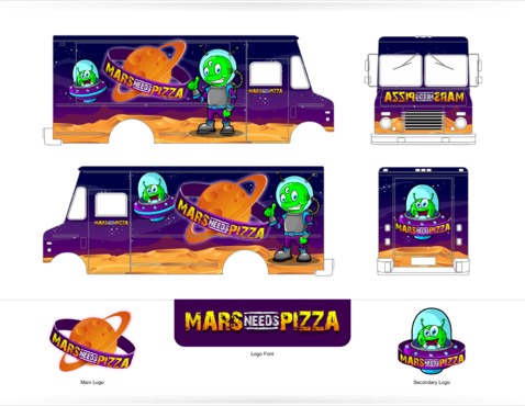 Mars Needs Pizza Other  Draft # 12 by Scarl8