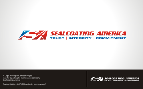 Sealcoating America A Logo, Monogram, or Icon  Draft # 688 by agungdesgraf