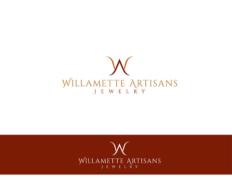 "WA (stands for Willamette Artisans Jewelry) possibly have the words "" Willamette Artisans"" in logo A Logo, Monogram, or Icon  Draft # 68 by Designeye"