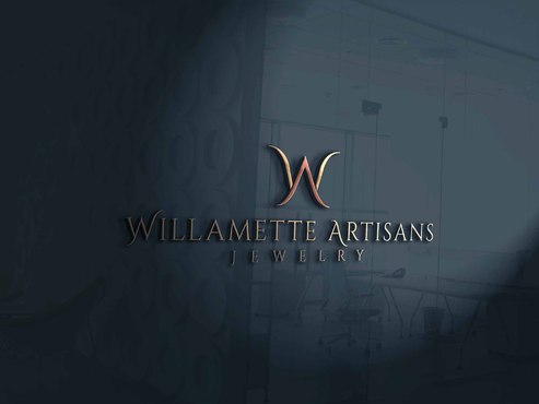 "WA (stands for Willamette Artisans Jewelry) possibly have the words "" Willamette Artisans"" in logo A Logo, Monogram, or Icon  Draft # 69 by Designeye"