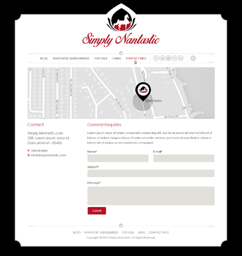 Simply Nantastic Complete Web Design Solution  Draft # 122 by Pixelwebplanet