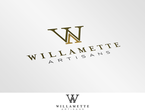 "WA (stands for Willamette Artisans Jewelry) possibly have the words "" Willamette Artisans"" in logo A Logo, Monogram, or Icon  Draft # 230 by Graphicon"