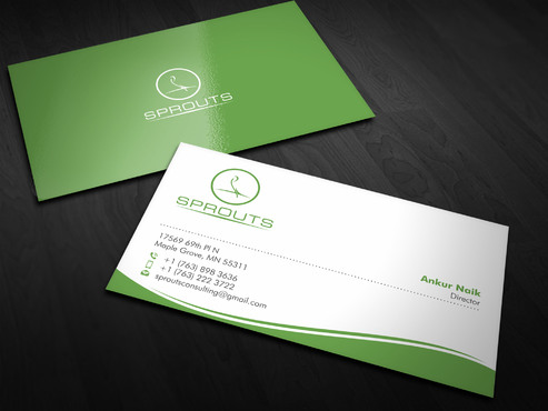 SPROUTS Business Cards and Stationery  Draft # 5 by Xpert