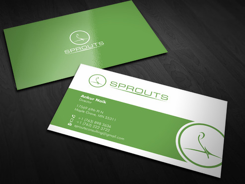 SPROUTS Business Cards and Stationery  Draft # 8 by Xpert