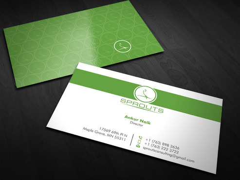 SPROUTS Business Cards and Stationery  Draft # 10 by Xpert