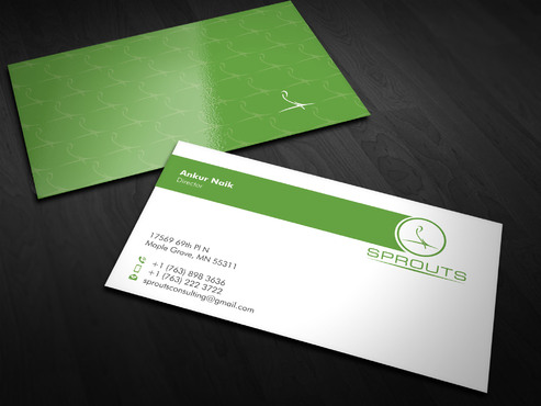 SPROUTS Business Cards and Stationery  Draft # 11 by Xpert