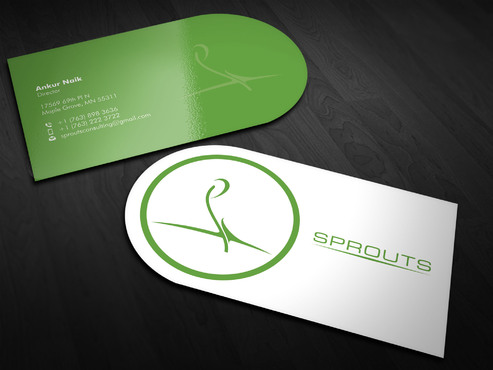 SPROUTS Business Cards and Stationery  Draft # 12 by Xpert