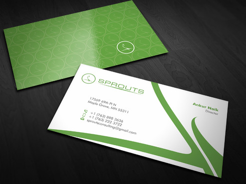 SPROUTS Business Cards and Stationery  Draft # 15 by Xpert