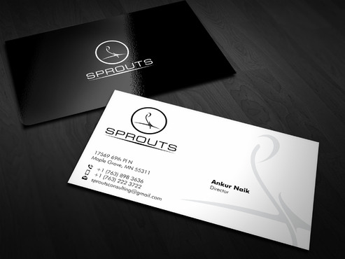 SPROUTS Business Cards and Stationery  Draft # 16 by Xpert