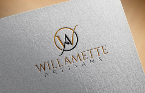 "WA (stands for Willamette Artisans Jewelry) possibly have the words "" Willamette Artisans"" in logo A Logo, Monogram, or Icon  Draft # 300 by Goodthinker"
