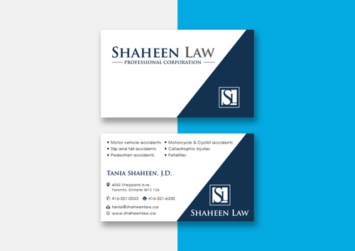 Shaheen Law, P.C. Business Cards and Stationery  Draft # 99 by maxrayne