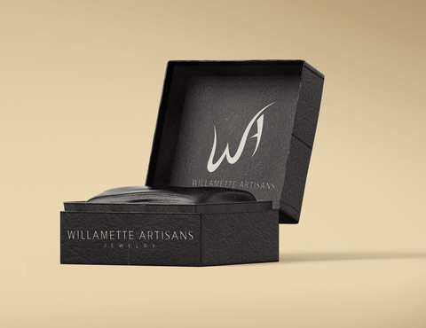 "WA (stands for Willamette Artisans Jewelry) possibly have the words "" Willamette Artisans"" in logo A Logo, Monogram, or Icon  Draft # 506 by LAZEE"