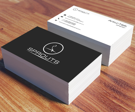 SPROUTS Business Cards and Stationery  Draft # 209 by OSSDesign