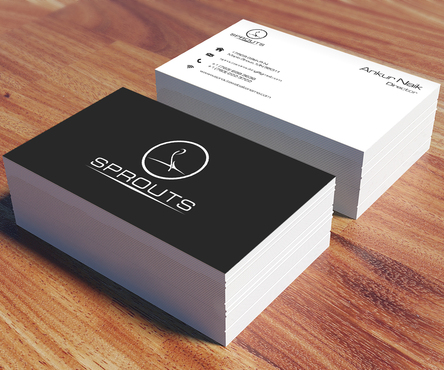 SPROUTS Business Cards and Stationery  Draft # 210 by OSSDesign