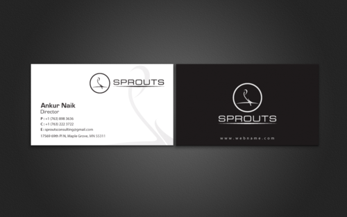 SPROUTS Business Cards and Stationery Winning Design by einsanimation