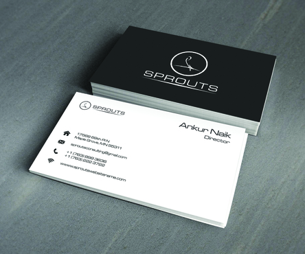 SPROUTS Business Cards and Stationery  Draft # 235 by OSSDesign