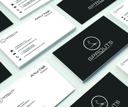 SPROUTS Business Cards and Stationery  Draft # 236 by OSSDesign