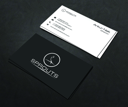 SPROUTS Business Cards and Stationery  Draft # 237 by OSSDesign
