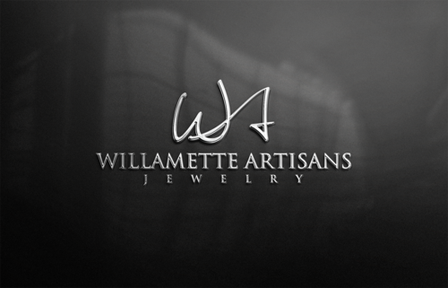 "WA (stands for Willamette Artisans Jewelry) possibly have the words "" Willamette Artisans"" in logo A Logo, Monogram, or Icon  Draft # 774 by BigStar"