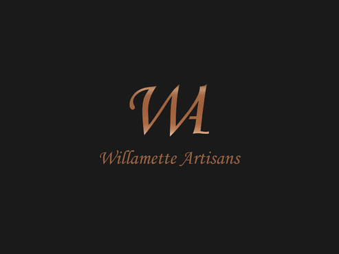 "WA (stands for Willamette Artisans Jewelry) possibly have the words "" Willamette Artisans"" in logo A Logo, Monogram, or Icon  Draft # 810 by Solitude"