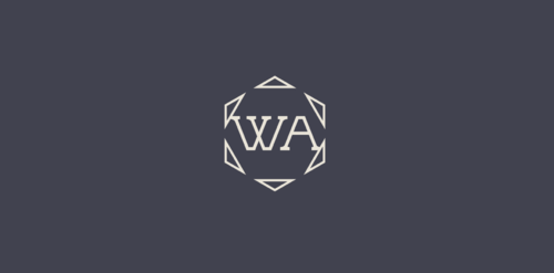 "WA (stands for Willamette Artisans Jewelry) possibly have the words "" Willamette Artisans"" in logo A Logo, Monogram, or Icon  Draft # 820 by Solitude"