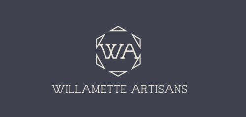 "WA (stands for Willamette Artisans Jewelry) possibly have the words "" Willamette Artisans"" in logo A Logo, Monogram, or Icon  Draft # 821 by Solitude"