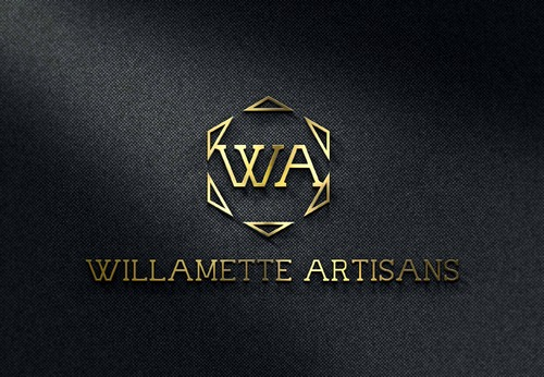 "WA (stands for Willamette Artisans Jewelry) possibly have the words "" Willamette Artisans"" in logo A Logo, Monogram, or Icon  Draft # 822 by Solitude"
