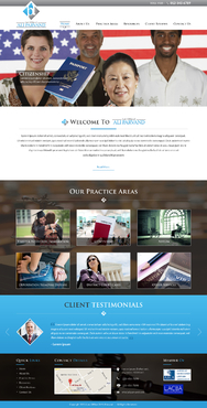 Law Office of Ali Parvand Complete Web Design Solution  Draft # 59 by jogdesigner