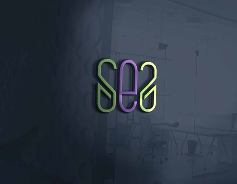 S E S or the letters S E S I A Logo, Monogram, or Icon  Draft # 407 by DrawSigner
