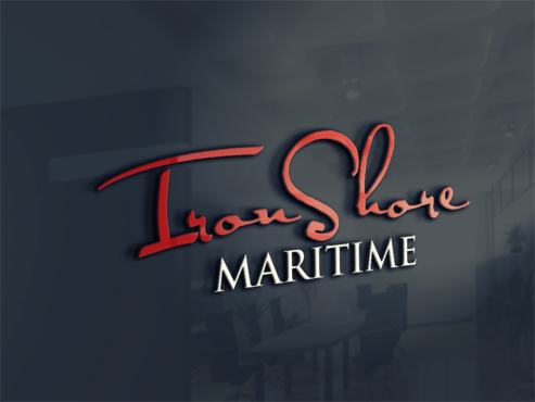 Iron Shore Maritime A Logo, Monogram, or Icon  Draft # 2 by PrintMedia
